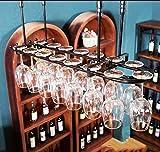 Weinregale Weinregal Hängende Weinglashalter Auf den Kopf Weinregal Weinschrank Kreatives Wohnzimmer Weinflasche Weinglasregal Wand-Weinregal (Farbe: Schwarz, Größe: 82cm * 25cm) ( größe : 80*25cm )