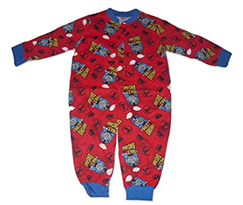 Boys Onesie Pyjamas Official Thomas The Tank Engine Red (2-3