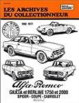 Alfa Romeo Giulia 1600-1750-2000 (196...