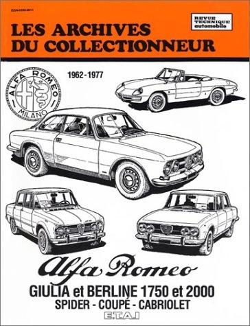 Alfa Romeo Giulia 1600-1750-2000 (1962-1977) N  36