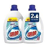 Colon Detergente para Ropa Líquido Fragancia Nenuco Hipoalergénico - Pack de 2 botellas de 60 lavados (120 lavados)