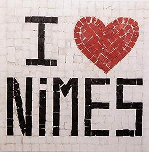 Trois petits points Kit de Mosaico Completo de Tres Puntos, Modelo Love Nimes-Geant+, 6192459601441, Universal.