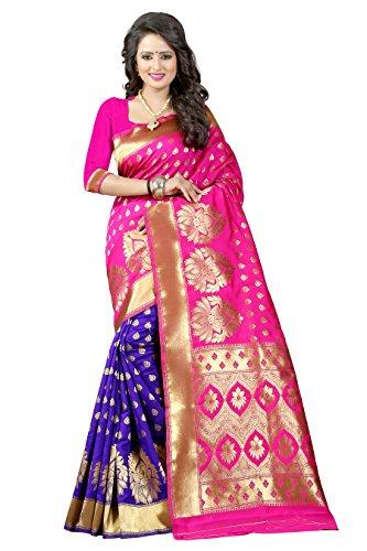 Rewa Enterprise Banarasi Silk Sarees | Party Wear Sarees | Sarees with...