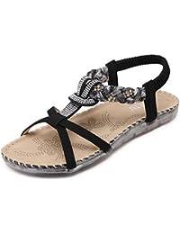 Sandalias Zapatos Mujer Para esBio Y Chanclas Amazon JFcKl1