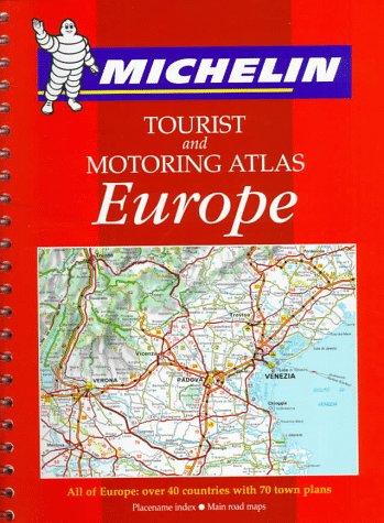 Tourist and motoring atlas: Europe