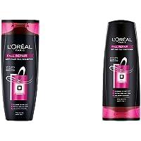 L'Oreal Paris Fall Resist 3X Anti-Hair Fall Shampoo, 360Ml+L'Oreal Paris Fall Resist 3X Conditioner, 175Ml