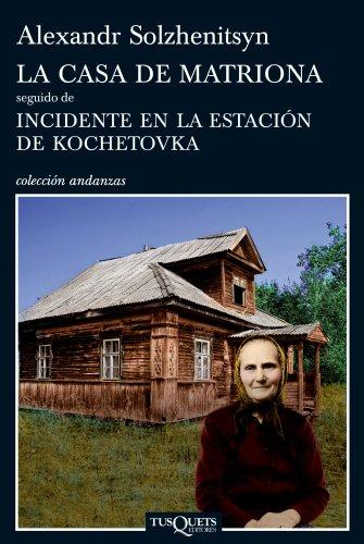 La casa de Matriona (Volumen independiente) por Alexandr Solzhenitsyn