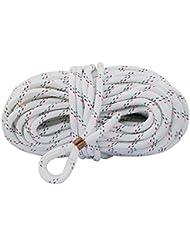 Osculati - ligne en polyester 40m, ø 10 mm, avec du nylon virole - parfait comme un amarrage, corde d'ancrage ou de remorquage