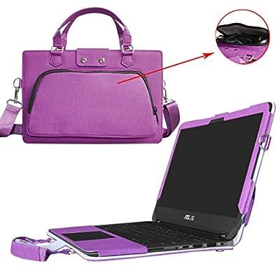 """Etui de protection en cuir PU et aussi comme un sac portable Coque Sacoche Pochette en désigné spécialement pour 13.3"""" ASUS ZenBook Flip UX360CAK Series Portable Notebook"""