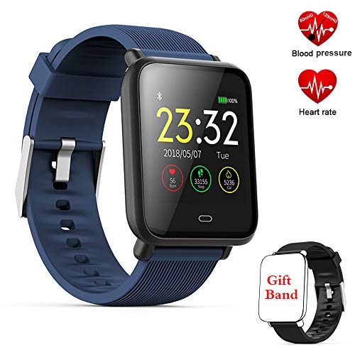 Fitness Tracker Watch, Activity Tracker Smartwatch con monitor della pressione...