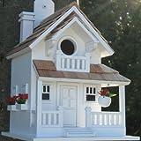 Garden Bazaar Hb-9045ws Backyard Bird Cottage–Blanc