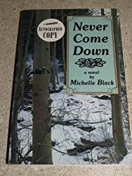 Never Come Down: A Novel of the Colorado High Country