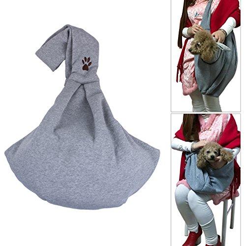 ZeWoo Single-Schulter Haustier Sling Transporttasche Hunderucksack Kleine Welpen Katze Tasche für Hunde bis zu 4kg