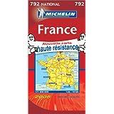 Carte routière : France (nouvelle carte haute résistance)