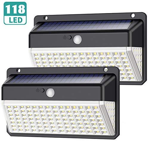 Luz Solar Exterior 118 LED