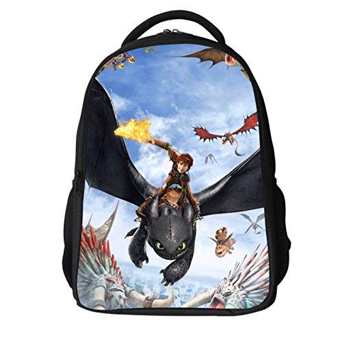 Dailygocn Anime Cosplay Backpack Rucksack Polyester Grundschule Tasche Cartoon Umhängetasche für Kinder Halloween