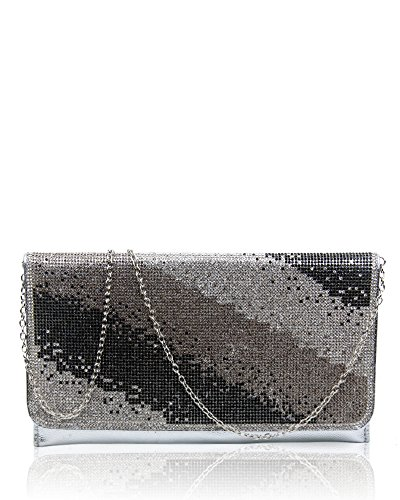 Foxlady, Damen Clutch Gold