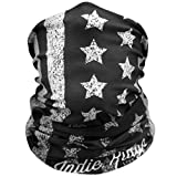 American Flag Outdoor Face Mask By IndieRidge - Microfiber Polyester Multifunctional Seamless Headwear for Motorcycle Hiking Cycling Ski Snowboard