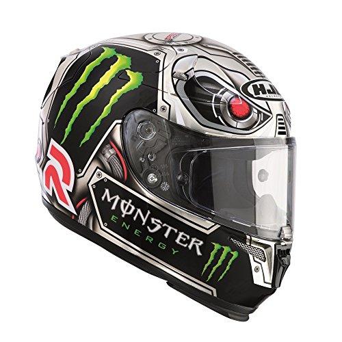 R13LSXL – HJC RPHA10 Plus Lorenzo Speed Machine Motorcycle Helmet XL