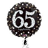 Amscan–321330165th cumpleaños Foil Globos