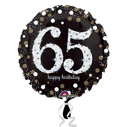 Preisvergleich Produktbild Amscan 321330165. Geburtstag Folie Luftballons