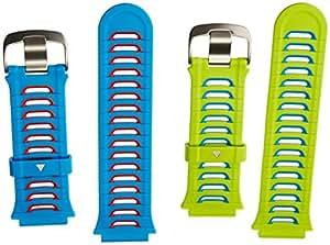 Garmin - Bracelet de Remplacement pour Forerunner 920XT (2 Couleurs - 010-11251-54)