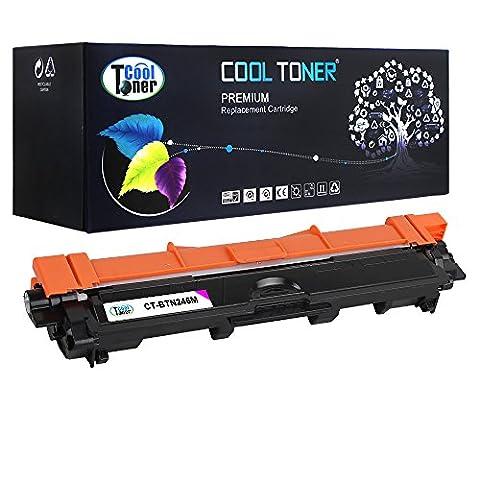 Cool Toner kompatibel toner für TN-246M für Brother HL-3142CW HL-3152CDW HL-3172CDW DCP-9022CDW MFC-9142CDN MFC-9332CDW MFC-9342CDW, Magenta, 2200