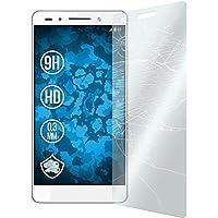 3 x Glas-Folie klar für Huawei Honor 7 PhoneNatic Panzerglas für Honor 7