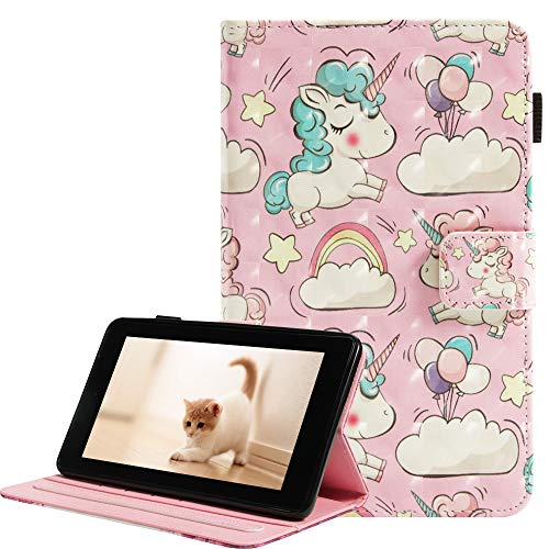 cover tablet amazon fire A-BEAUTY Fire 7 2017 / Fire 7 2015 Custodia