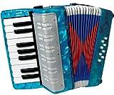 Scarlatti Kinder-Akkordeon Blau