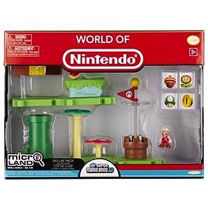 Jakks Pacific - Nintendo Micro Playset Deluxe Pack Serie 1, Modelo surtido, 1 unidad 6