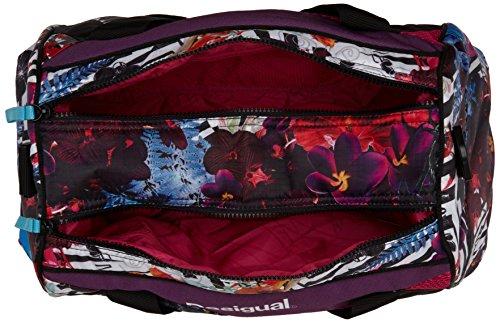 DesigualBols Mid A Flox - Borsa con Maniglia donna Viola (Purple (Flox))