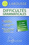 difficults grammaticales