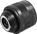 Canon EF-M 28mm f/3.5 Macro IS STM - Objetivo para cámara Canon, negro