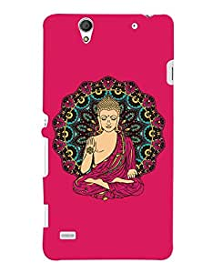 ColourCrust Sony Xperia C4 / Dual Sim Mobile Phone Back Cover With Lord Buddha Devotional - Durable Matte Finish Hard Plastic Slim Case