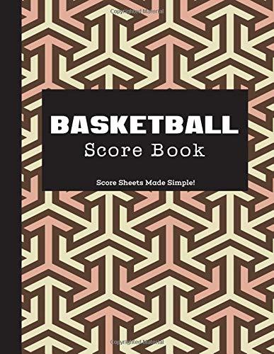 Basketball Score Book: Unique Matte, 8.5