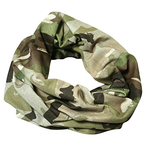 SNOOD VCAM BALACLAVA CAMO HEAD WRAP AIRSOFT ARMY CAMOUFLAGE ()
