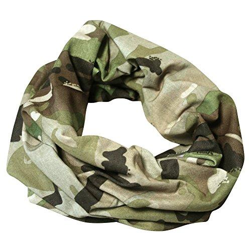 VIPER TACTICAL HEAD SNOOD VCAM BALACLAVA CAMO HEAD WRAP AIRSOFT ARMY CAMOUFLAGE (Jagd Verschweigen)
