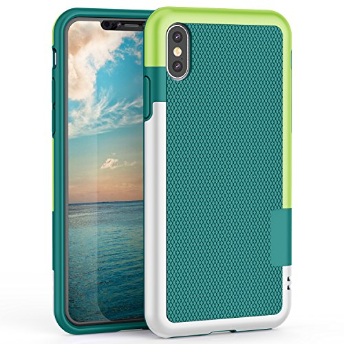 Funda iPhone X, HanLuckyStars TPU Funda Carcasa para iPhone X Case con...