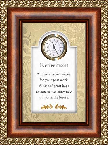 Dulce Recompensa regalo de jubilación reloj para un hombre o mujer