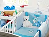 Red Kite Cosi Cot Bedding Set (Blue Bear)