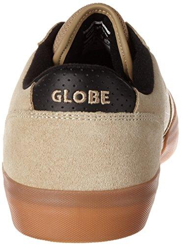 Globe Herren Mojo Legacy Low-Top Beige (Khaki/white)