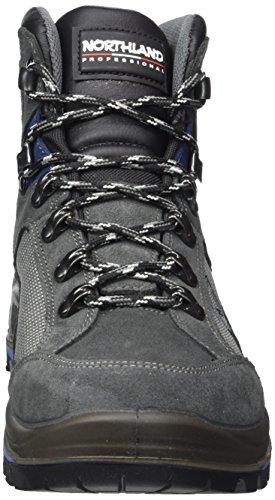 Northland Professional Glockner HC NG, Chaussures de Trekking et Randonn&Eacutee Homme Gris (Dk. Grey/navy)