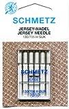 Schmetz Jersey-Nadeln in verschiedenen Größen, 5er-Set, 70/10 (Finest)