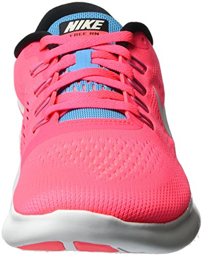 Nike Free Run, Chaussures Multisport Outdoor Femme Rose (Rcr Pnk/off Wht-chlrn Bl-blk)