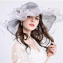 Amazon.es  sombrero playa mujer - Gris 536819a38b1
