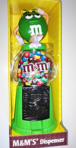 m-m-s-m-m-dispenser-dispenser-green-verde-urlauberin-coin-bank-ca-28-cm-di-altezza