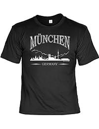T-Shirt mit Urkunde - München Germany - Lustiges Sprüche Shirt als Geschenk für Münchner Bayern mit Humor