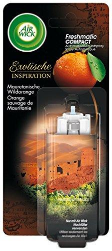 Air Wick Freshmatic Compact Automatisches Duftspray Nachfüller, Mauretanische Wildorange, 3er Pack (3 x 24 ml)