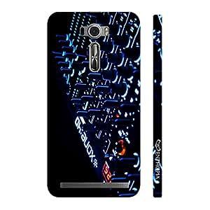 Enthopia Designer Hardshell Case DJ IN THE HOUSE Back Cover for Asus Zenfone 2 Laser ZE601KL